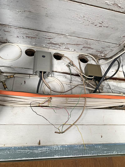 this picture shows an electrical remodel in Santa Barbara CA